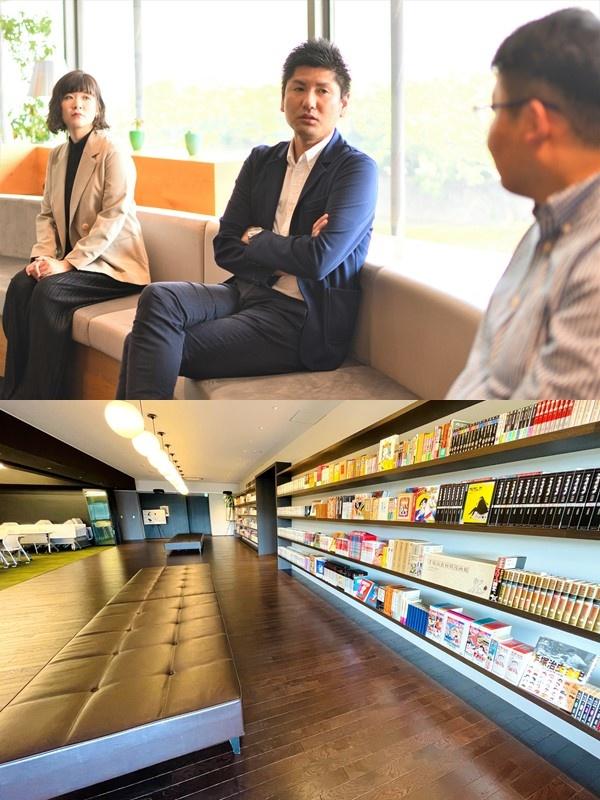 社長室スタッフ(電子書籍流通のパイオニア企業/社長直下の部署で幅広い業務を担当)